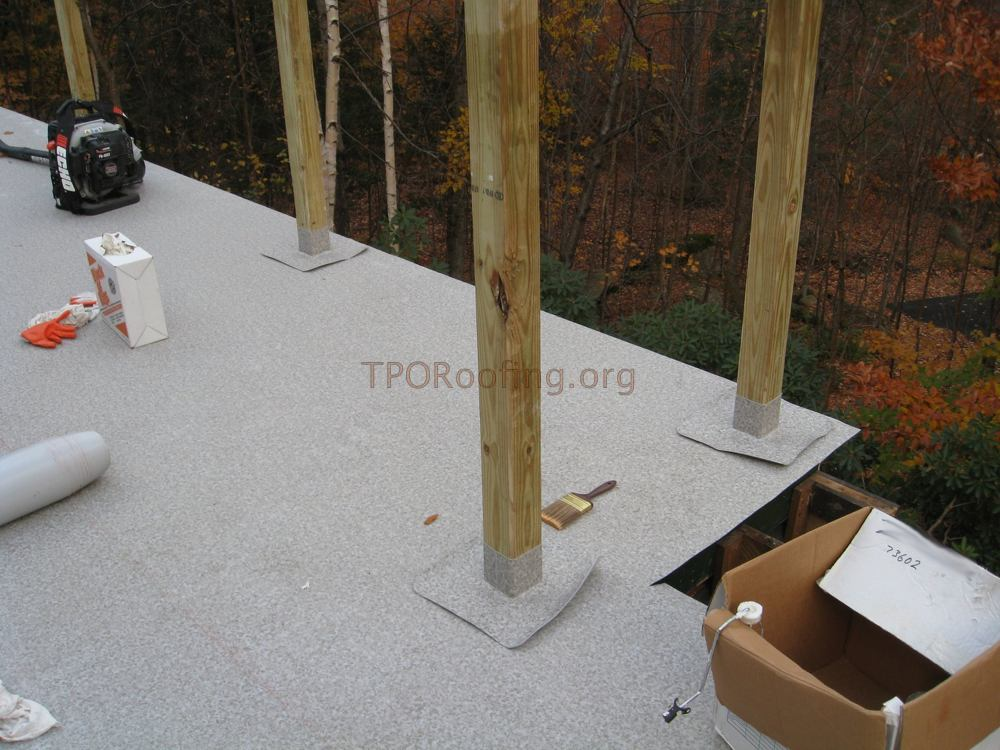 Waterproofing Your Roof Deck With A Tpo Membrane Pros